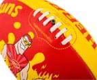 Sherrin Size 3 Splat Football - Gold Coast Suns 6