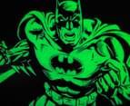 Sherrin Soft Touch 25cm Youth Football - Batman Glow 5