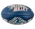 Sherrin Soft Touch 25cm Youth Football - Superman Glow 3
