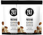 2 x 247 Protein Mix Toppers Almonds & Seeds 300g 1
