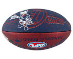 Sherrin Size 2 Lightning Football - Melbourne Demons 3