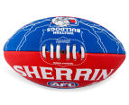 Sherrin Size 2 Lightning Football - Western Bulldogs 2