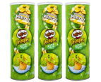 3 x Pringles Sour Cream & Onion 150g 1