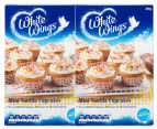 2 x White Wings Mini Vanilla Cupcake Mix 290g 1