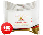 6 x Hydratherapy Facial Cleansing Wipes 25pk 1