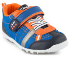 Clarks Toddler Moss Shoe - Blue/Multi 2