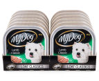 12 x My Dog Lamb Loaf Classic Tray 100g 2