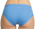 Bonds Women's Cottontails Bikini Briefs - Blue 4