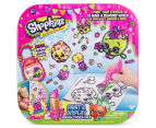 Shopkins Paint & Display Window Sticker Pack 1
