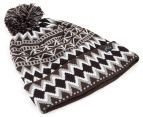 Rusty War Child Beanie - Dark Coffee 3