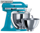 KitchenAid KSM160 Artisan Stand Mixer REFURB - Crystal Blue 1