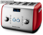KitchenAid KMT423 Artisan 4-Slice Toaster REFURB - Empire Red 1
