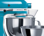 KitchenAid KSM160 Artisan Stand Mixer REFURB - Crystal Blue 3