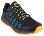 Nike Men's Dual Fusion Trail 2 Shoe - Black/Anthracite/Laser Orange/Photo Blue 2