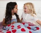 Little Bonbon 150x100cm Cot Blanket - Very Cherry 3