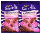 2 x Cadbury Marvellous Creations Raspberry Lemonade Block 270g 1