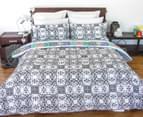 Apartmento Queen Bed Boho Reversible Comforter Set - Multi 2