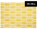 Isobel Modern Outline 225x155cm Rug - Yellow 1