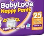 BabyLove Nappy Pants Walker 12-17kg, 25pk 2