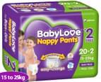 BabyLove Nappy Pants Junior 15-25kg, 22pk 1