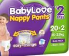 BabyLove Nappy Pants Junior 15-25kg, 22pk 2