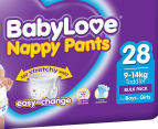 BabyLove Nappy Pants Toddler 9-14kg, 28pk 2
