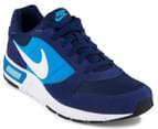 Nike Men's Nightgazer Shoe - Loyal Blue/White/Photo Blue 2