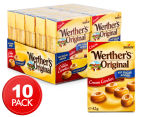 10 x Werther's Original Cream Candies 42g 1