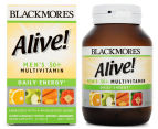 Blackmores Alive! Men's 50+ Daily Energy Multivitamin 60 Tabs 2