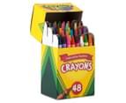 4 x    Crayola Crayons Box 48-Pack 3