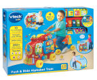 VTech Baby Push and Ride Alphabet Train - Sit Down Walker Pull-Along Ride-On 2