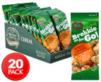 20 x Mother Earth Brekkie On The Go Apricot & Almond 45g 1