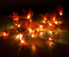Short Story 3.5M Lily LED String Lights - Red 3