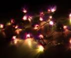 Short Story 3.5M Lily LED String Lights - Purple 3