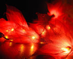 Short Story 3.5M Lily LED String Lights - Red 5