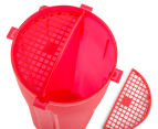 BSc 700mL Dual Cup Shaker - Red/Black 5