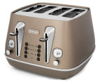 DéLonghi Distinta 4-Slice Toaster - Future Bronze 1
