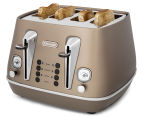 DéLonghi Distinta 4-Slice Toaster - Future Bronze 2