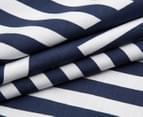 Bambury Elliot Double Reversible Quilt Cover Set - Navy/White 4