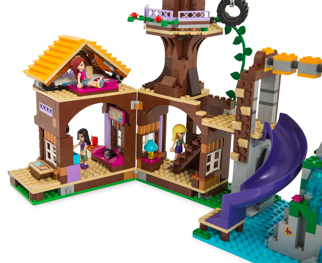 LEGO® Friends Adventure Camp Tree House Building Set ...