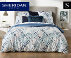 Sheridan Alchemie Single Bed Quilt Cover Set - Aquamarine 1