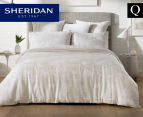 Sheridan Impressions Queen Bed Quilt Cover Set - Sand 1