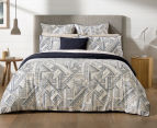 Sheridan Emden Queen Bed Quilt Cover Set - Midnight 2