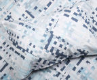 Sheridan Alchemie Double Bed Quilt Cover Set - Aquamarine 3