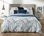 Sheridan Alchemie King Bed Quilt Cover Set - Aquamarine 2