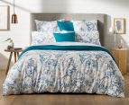 Sheridan Paloma Queen Bed Quilt Cover Set - Ocean 2