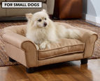 Enchanted Home Sydney Snuggle Pet Bed For Small Dogs - Beige 1