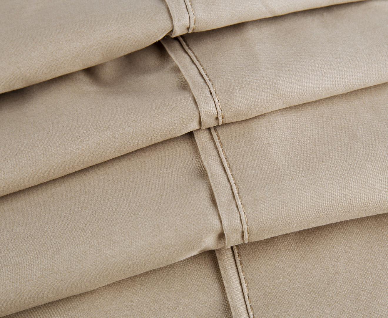 62e81badfe7 VIVA 1000TC Premium Egyptian Cotton Queen Bed Sheet Set - Linen ...