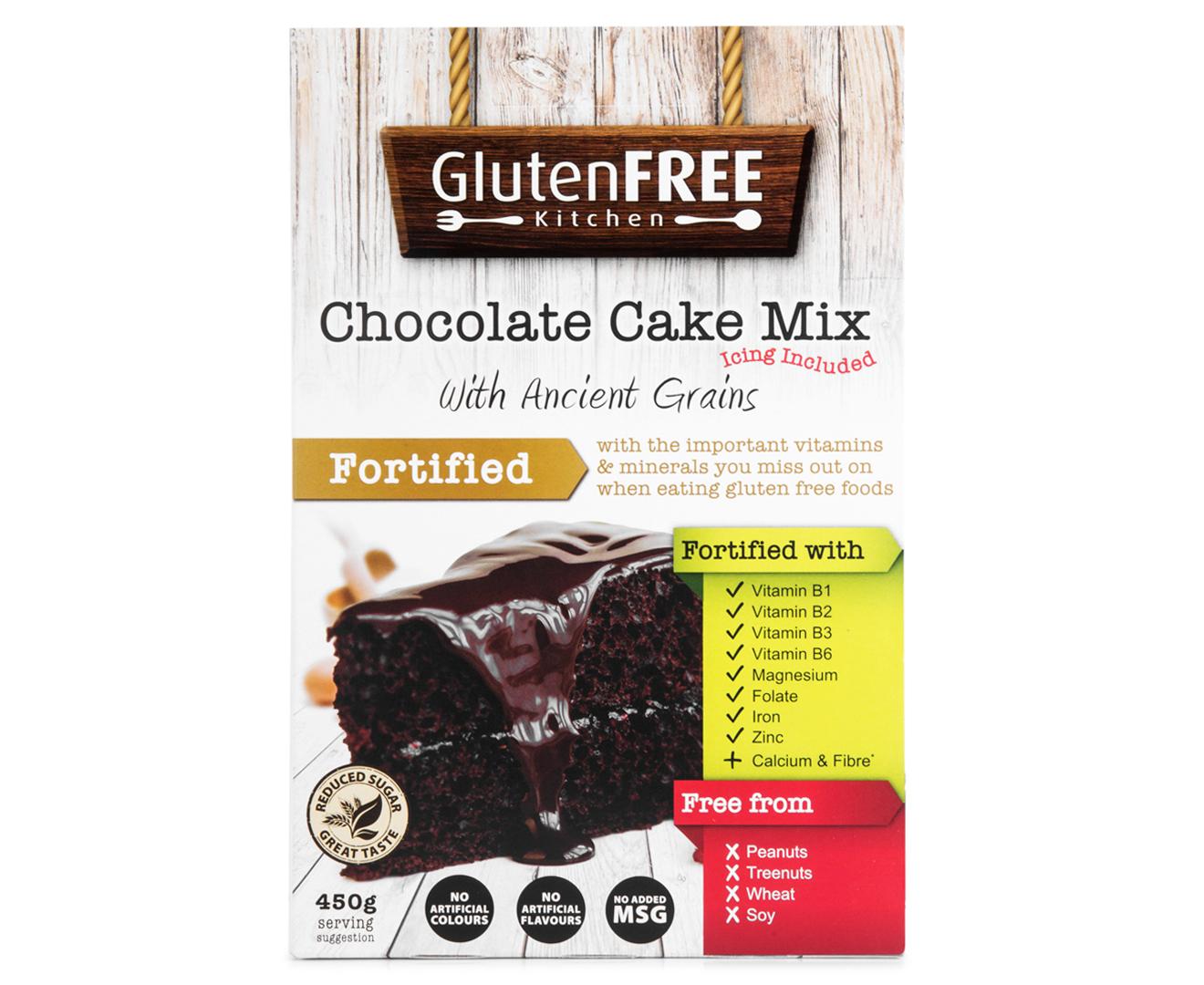 Has No Gluten Free Cake Mix