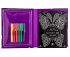 Kaleidoscope Neon Colouring Kit - Butterflies & More 3